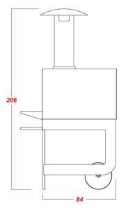 Prospetto laterale TC FI 70 G